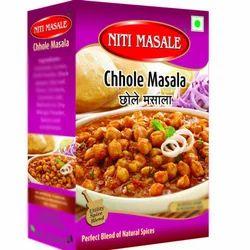 Niti Masale 100 g Chhole Masala, Packaging: Box