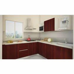 Chilliez V Shaped Modular Kitchen