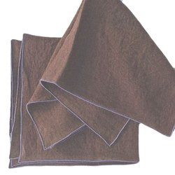 Brown Kaushal Cheap Wholesale High Quality Cotton Napkins Dinner Placemats, Size: 50x50 Cm