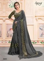 Party Fancy Elegant Ladies Saree