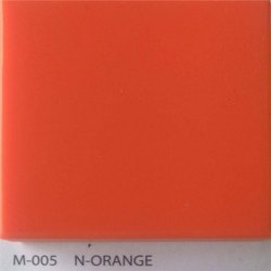 N Orange Acrylic Solid Surface