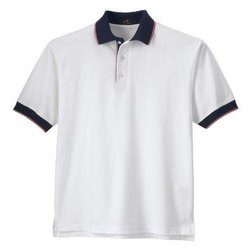 Polo Neck Half Sleeve Mens Collar T Shirt, Size: Large