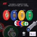 ATE 190 Kg Olympic Weight Lifting Set