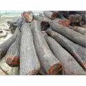 Brown Natural Mango Wood Log