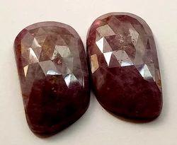 Fancy African Red Ruby Loose Gemstones, 2 To 10 Carat