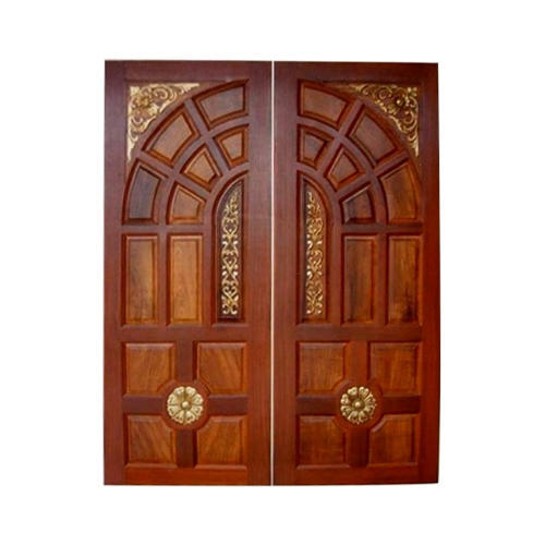 Teak Wood Double Door at Rs 24000 /piece | Lakadganj | Nagpur | ID ...