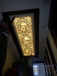 Solid Surface Acrylic Ceiling 3d