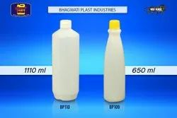 White Round Plastic Bottle For Sauce, Use For Storage: sauces, Capacity: 650 ml and 1100 ml