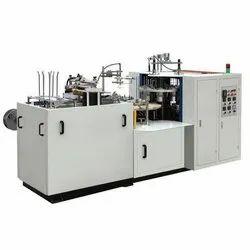 Semi Automatic Paper Cup Making Machine, Cup Size: 100-200 ml