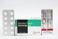 BACLOSIGN 25 MG TAB