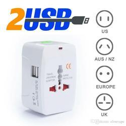 Portable Travel Adapter USB Plug