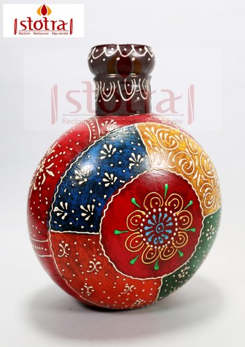 Hand painted Floral Decorative Vase