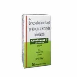 Levosalbutamol and Ipratropium Bromide Inhaler