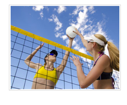 Beach Volleyball Net