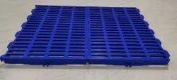 Blue Color Plastic Slatted Flooring Goat Farm