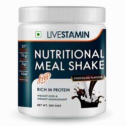 Nutritional Meal Shake Chocolate Flavour Weight Management Supplement