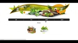 Online Herbs Shopping Project Shopping Software