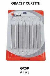 GDC Gracey Curettes Standard Set of 9 GCS9
