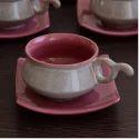Ceramic Matte Cup Saucer