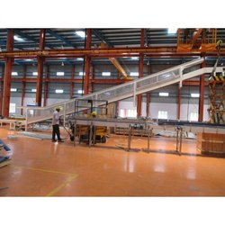 Mild Steel Mobile Conveyor System