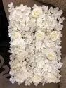 Flowerr White Wedding Stage Flower Deco