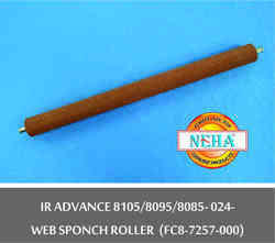 IR ADVANCE 8105/8095/8085-024 Web Sponch Roller (FC8-7257-000)