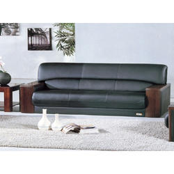 Brown Fabric Sofa Set