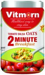 Instant Oats Masala Tomato Salsa