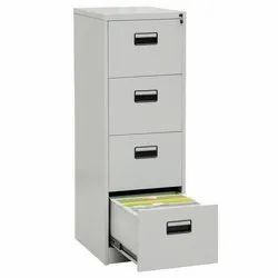 Gray File Cabinet, For Office, No. Of Drawers: 4