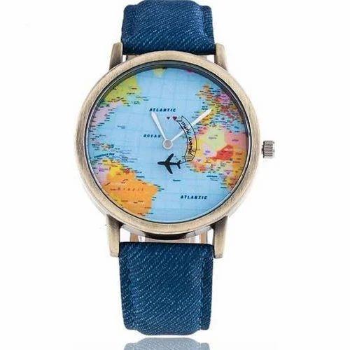 Multicolor Myvaluestore World Map Kids Watch Rs 150 Piece Id
