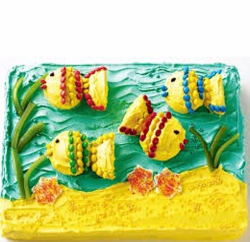 Fabulous Aquarium Cake At Rs 1900 Kilogram Jp Nagar Phase 5 Bengaluru Funny Birthday Cards Online Necthendildamsfinfo