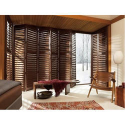 Wood Folding Accordion Shutters