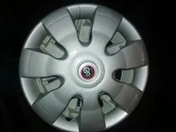 Silver Premium Wheel Cover, Packaging Type: 4 Pc In A Set, Size: 16 Inches