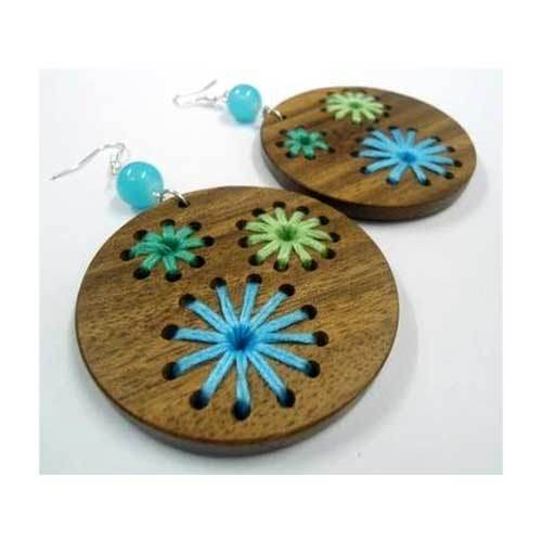 915a7feaef3237 Wooden Earrings at Rs 100 /pair   Wood Earring   ID: 15718286648
