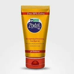 Herbal Zintol Moisturizing Face Wash Gel, Packaging Size: 50 Ml