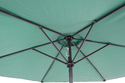 Patio Umbrella-Center Pole-2.7M-GREEN