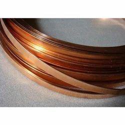 Copper Flat Strip, 2-5mm