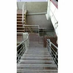 Floor Mounted Stainless Steel Railing