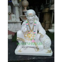 marble dwarkamai sai babai statue
