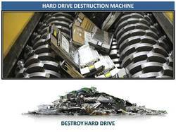 Hard Drive Destruction Machine