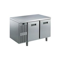 Triune Kitchen Stainless Steel 2 Door Under Counter Chiller, 0 deg C to 10 deg C, Capacity: 270 Liter