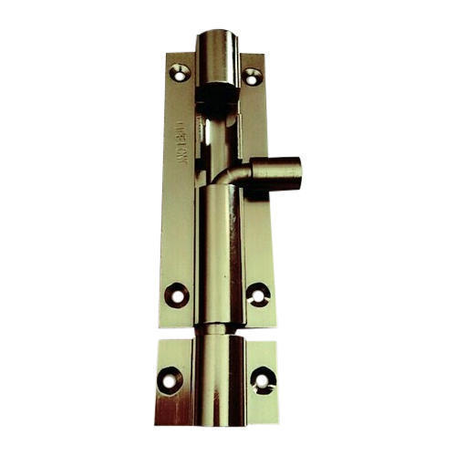 Aluminum Plain Tower Bolt, Size: 4 inch