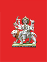 Beautifully Carved Maa Durga Statue