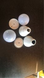 Ceramic LED Bulb Housing, Shape: Round