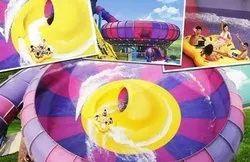 Double Thunder Bowl Water Slide