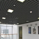 Steel / Stainless Steel Open Cell False Ceiling