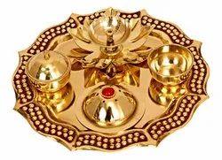 Brass Pooja Dish