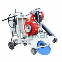 ALANKAR MAKE Concrete Groove Cutting Machine, 8.4 Hp Air Cooled