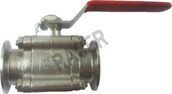 Triclover End SS Ball Valve