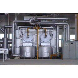 Heavy Duty Aluminium Melting Furnace Plant